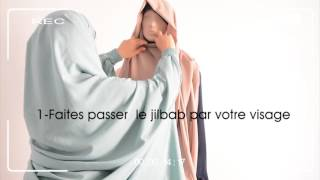 Tutoriel Jilbab - كيف ألبس الجلباب - How to put a Jilbab