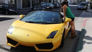 Old Man Pick Up Young Girls in a Lamborghini Gold Digger Prank! (Supercar Social Experiment)