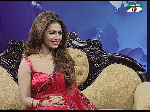 Rupantor - Actress Nusrat Faria with Punam Priyam