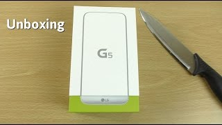 LG G5 Silver - Unboxing! (4K)