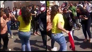 الرقص بطريقه مختلفه من بنات القاهره الجديده والرحاب في الانتخابات!