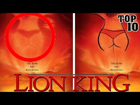 subliminal images in disney movies