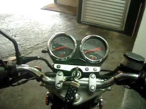 partida a frio de uma moto método correto dica