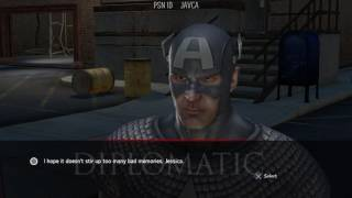 Marvel Ultimate Alliance 2 --- BOSS BLACK WIDOW --- Gameplay PS4