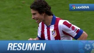 Resumen de Atlético de Madrid (3-1) Málaga CF - HD