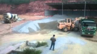 Batching Plant reject gravel