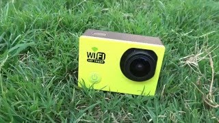 Sports WiFi HD DV Camera Unboxing, Review, Video Test #ActionCams@Dinos