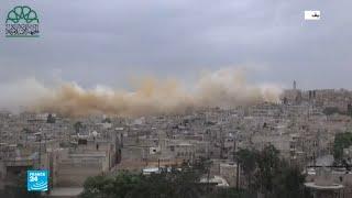 الجيش السوري يوجه ضربات مكثفة على مواقع لهيئة تحرير الشام