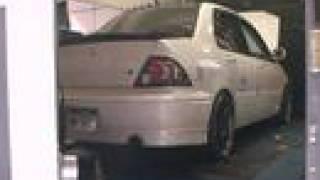 2003 Mitsubishi Lancer Turbo KAS Dyno Pull 325WHP