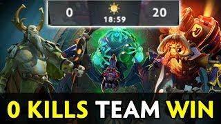 0 kills team can win? The International 2017 insane strat