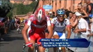 Giro d'Italia 2009 - Climb to the Santuario di San Luca