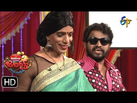 Hyper Aadi, Raising Raju Performance | Jabardasth | 4th January 2018  | ETV  Telugu