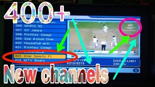 400+ New channels on dd free dish 2017-18 new channels add Nobody knows about it 😱