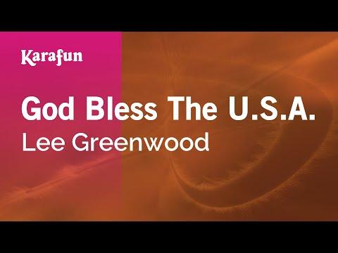 watch Karaoke God Bless The U.S.A. - Lee Greenwood *
