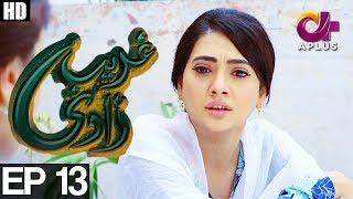 Ghareebzaadi - Episode 13 | A Plus ᴴᴰ Drama | Suzzaine Fatima, Shakeel Ahmed, Ghazala Kaife