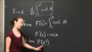Second fundamental theorem and chain rule   MIT 18.01SC Single Variable Calculus, Fall 2010