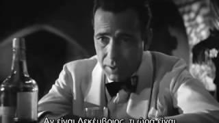 Casablanca one of the best scenes