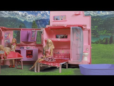 Barbie The Camping Catastrophe