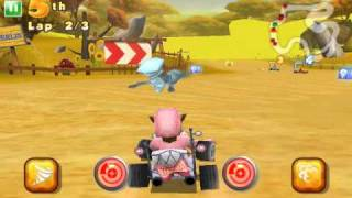 Shrek Kart - Android HD trailer by Gameloft