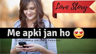 Cute Love Conversation B/w She & He | Hindi | Urdu | Whats App Chat | Short Love Sotry
