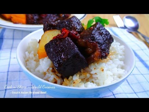 South Asian Braised Beef