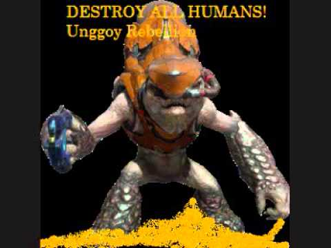 DESTROY ALL HUMANS! Unggoy Rebellion theme song