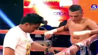 Chan Ratana vs Morocco kun Khmer boxing 29/12/2018