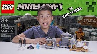 LEGO MINECRAFT - Set 21124 THE END PORTAL - Unboxing, Review, Time-Lapse Build