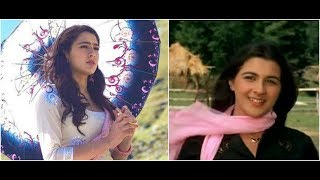 Sara Ali Khan looks totally like mom Amrita Singh in 'Kedarnath' pics