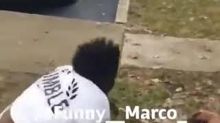 Fat ladies fighting in the hood
