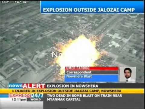 Blast at Jalozai camp Nowshera injures one