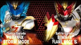 Satria Garuda BIMA X Storm MODE VS Flame MODE S Bima X Game Indonesia Bagian.26