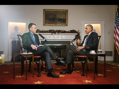 watch NPR's Exit Interview With President Obama | Morning Edition | NPR