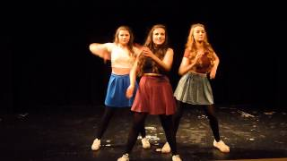 Starlet Dance School Stage 5 Dancing to 'Move' Little Mix for dance competition