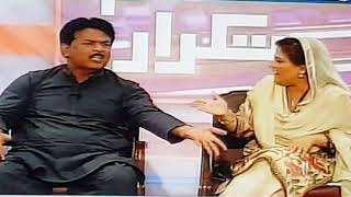 UZMA BUKHARI PMLN FIGHT WITH CHEEMA PTI ON TAKRAAR