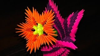 How to make a flower tutorial origami 3d emilio playithub largest 3d origami flowers flower a master cla 5 years ago mightylinksfo