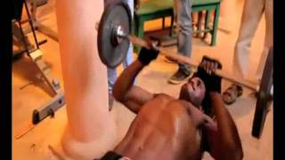 Actor Sunil Six Pack Training Video leaked - Tollywood