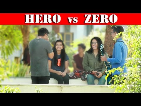 Xxx Mp4 HERO Vs ZERO On HOT GIRLS Beatbox In INDIA Fuddu Prank 3gp Sex