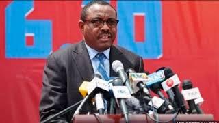 DEG DEG RA'IISAL WASAARAHA ETHIOPIA OO IS CASILAY IYO XAALADA ETHIOPIA WARBIXINTII UGU DAMBAYSAY