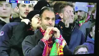 هدف ليفربول في مرمى روما