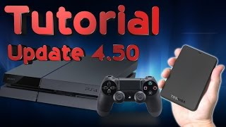 How to download and store PS4 games and apps to an external HDD (Tutorial Update 4.50)