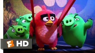 Angry Birds - The Slingshot Scene (4/10) | Movieclips