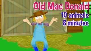 Old MacDonald Had a Farm - All Farm Animals - Nursery Rhymes & Kids Songs by Oxbridge Baby