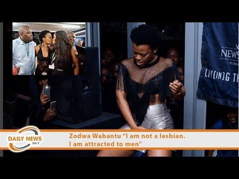 "Xxx Mp4 Zodwa Wabantu ""I Am Not A Lesbian I Am Attracted To Men"" 3gp Sex"
