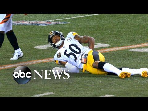Xxx Mp4 Steelers Linebacker Suffers Major Back Injury 3gp Sex