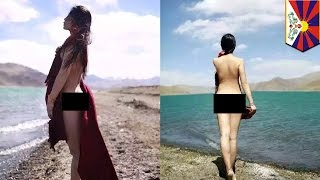 Nude Chinese model photoshoot at Tibetan lake gets photographer 10 days in jail - TomoNews