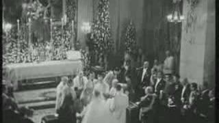 La Boda  Carmen  Franco ( la hija de Franco) - 1950