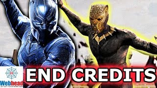 Black Panther END CREDITS Scene Soul Stone Theory! | Webhead