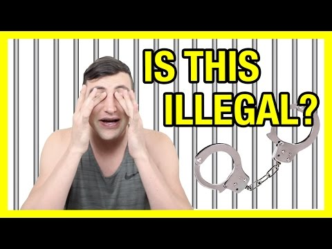 IS THIS ILLEGAL?! (WAIT TIL THE END) | Alx James