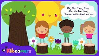 Mr. Sun Sun Mr Golden Sun | Weather song for Children | Best Kids Songs | The Kiboomers